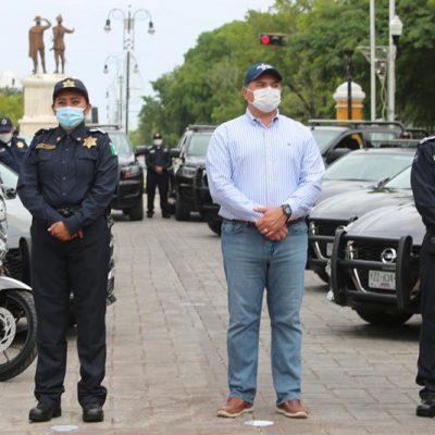 Fortalecen la Policía Municipal de Mérida