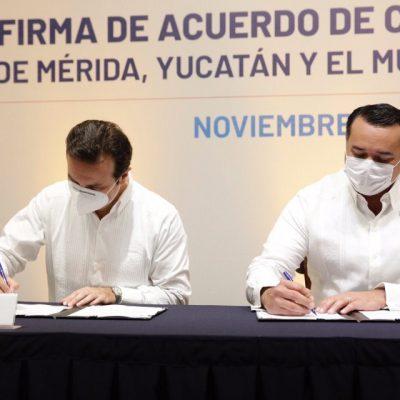 Mérida y Cozumel firman acuerdo de cooperación