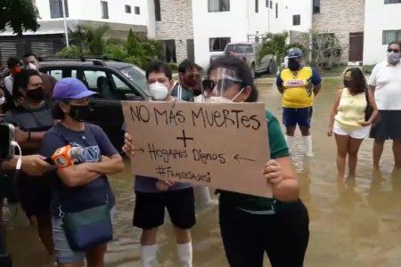 Damnificados de Sadasi en Las Américas piden que expertos solucionen persistentes inundaciones