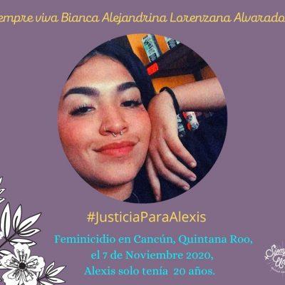 Quintana Roo: exigen justicia para Alexis, joven descuartizada en Cancún