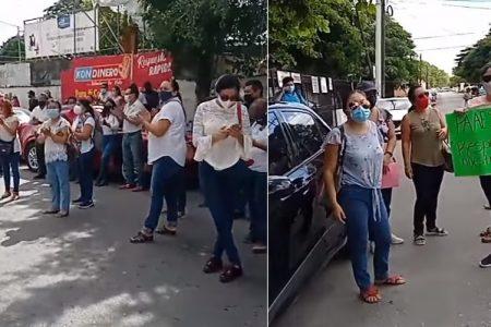 Protesta de maestros obstaculiza labores en Segey