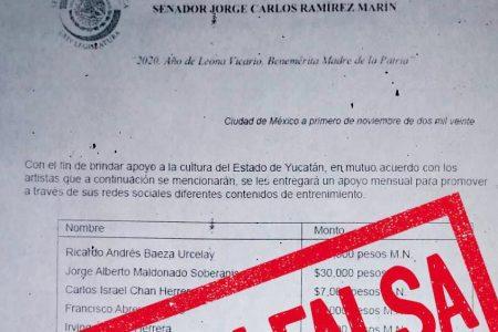 """Guerra sucia contra Ramírez Marín: circula """"fake news"""" sobre el senador"""