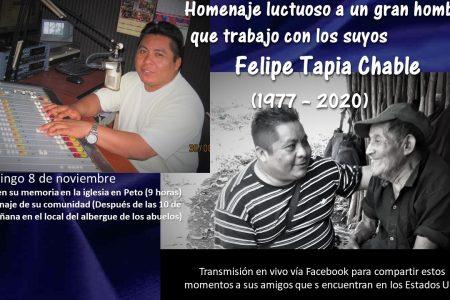 Homenaje póstumo a gran petuleño que luchó por dignificar el pueblo maya