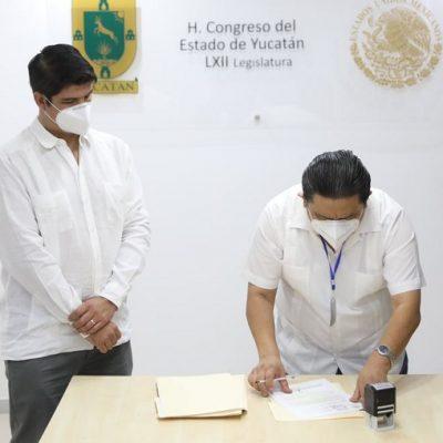 Mauricio Vila envía al Congreso terna para el cargo de Fiscal General del Estado