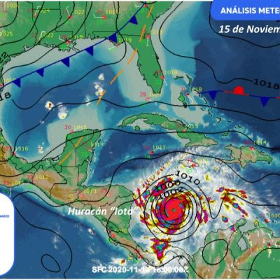 Previene Procivy sobre aproximación del frente frío 13 con lluvias
