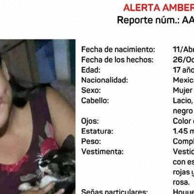 Emiten Alerta Amber por jovencita de 17 años extraviada el 26 de octubre