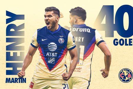 El yucateco Henry Martín, el mejor goleador mexicano del Guardianes 2020