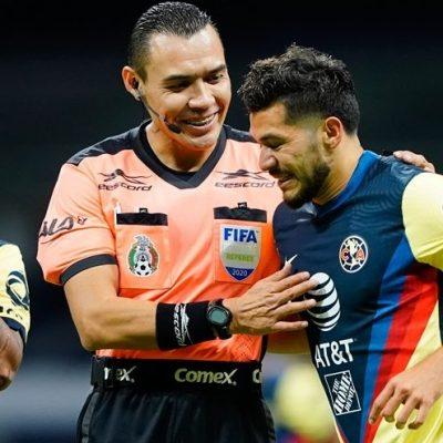 El videoarbitraje le niega un gol al yucateco Henry Martín