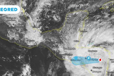 Lluvias intensas y posibles inundaciones en el sureste de México