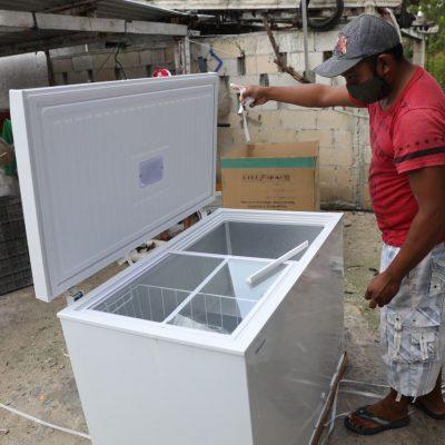 El gobernador Mauricio Vila sigue respaldando a los pescadores yucatecos