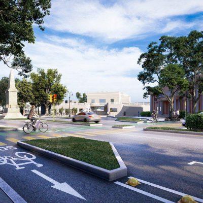 Con las ciclovías en Paseo de Montejo, Mérida va un paso adelante en movilidad urbana