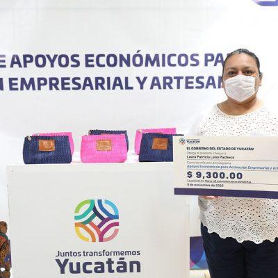 Más apoyos para reactivar empleos en el sector artesanal de Yucatán