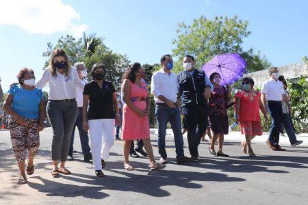 Mauricio Vila y Renán Barrera entregan 35.7 km de calles pavimentadas en Mérida