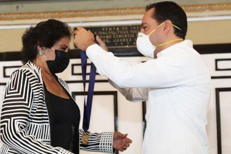 Jamás soñé recibir la Medalla Yucatán: María Medina