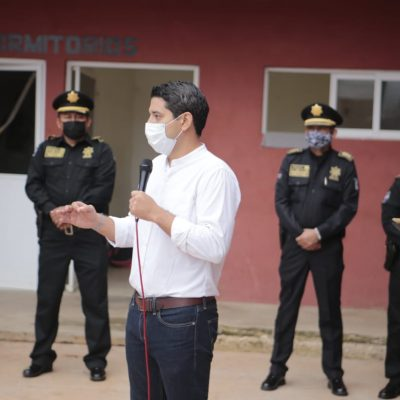 Nuevo director de la Policía Municipal de Tekax