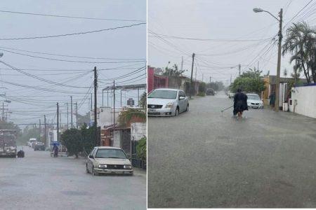 Récord de lluvia durante octubre en Yucatán por tanto ciclón y frente frío