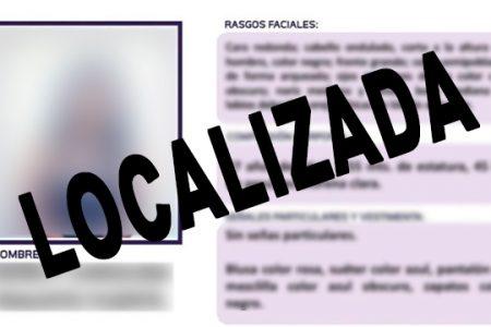 La SSP localiza a ciudadana presuntamente desaparecida