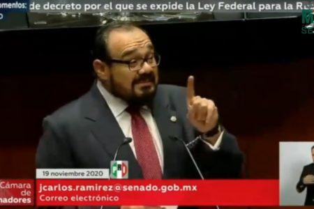 Senador Ramírez Marín logra programa permanente para prevenir adicciones