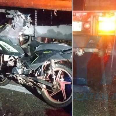 Trágico accidente en la carretera Motul-Baca