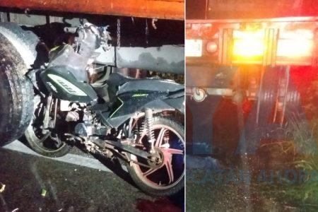 Trágico accidente en la carretera Motul-Baca