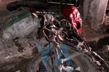 Terrible accidente de joven motociclista: acaba con el pie amputado