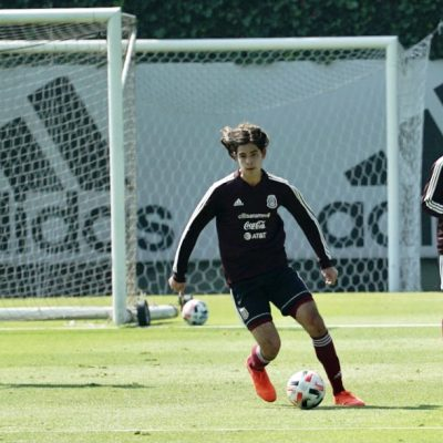 El juvenil yucateco Patricio Salas aprovecha cada detalle para mejorar como futbolista