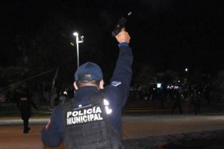 Cesan a director de la policía de Cancún por ordenar agresión a balazos contra manifestantes