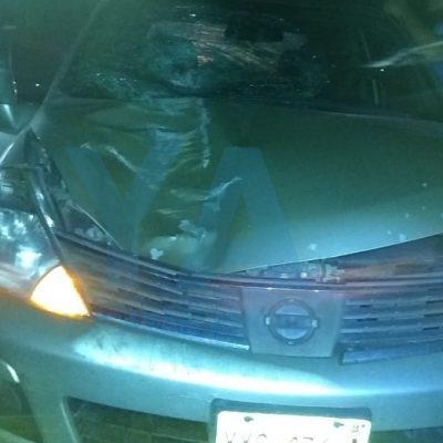 Trágico accidente: abuelita de 82 años escapa de su casa y la atropellan