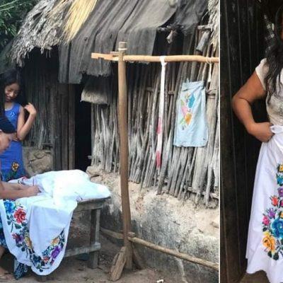 Arte en silencio: las bordadoras de manos mágicas en Chicán