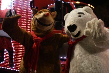 Cancelan el árbol de Navidad de Bepensa, pero no la Caravana Coca Cola 2020