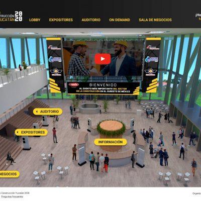 Gratuita, con ofertas y de manera virtual, arranca la Expo Construcción Yucatán