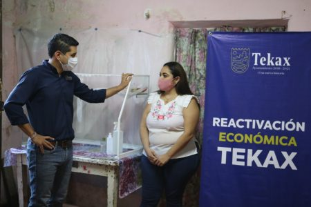 Ayudan a emprendedores de Tekax a levantarse de la crisis por Covid-19