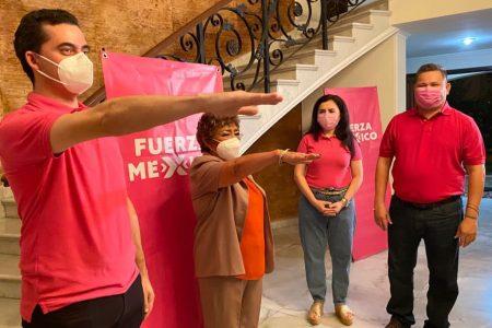 Toma posesión nuevo comité de Fuerza por México en Mérida