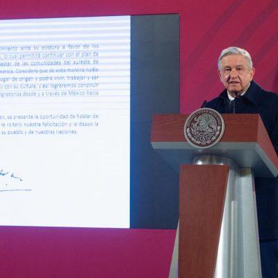 AMLO felicita con una carta a Joe Biden tras ganar elección presidencial de EU