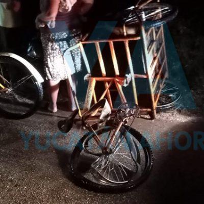 Tsuru choca un triciclo con dos jóvenes hermanos; una hospitalizada