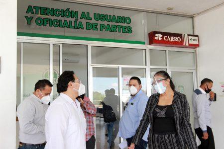 Juan Manuel León León recorre agencias del Ministerio Público