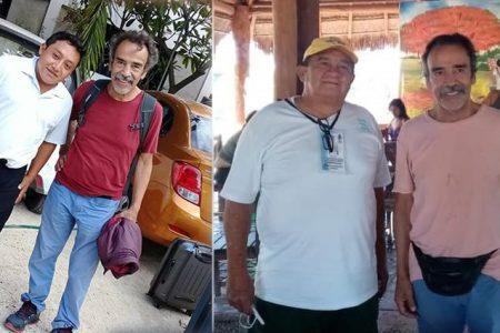 El actor Damián Alcázar, 'El Benny', de visita por Yucatán