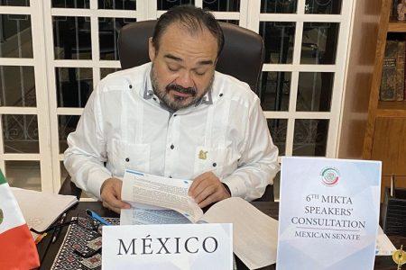 Ramírez Marín representa a México en el encuentro internacional MIKTA