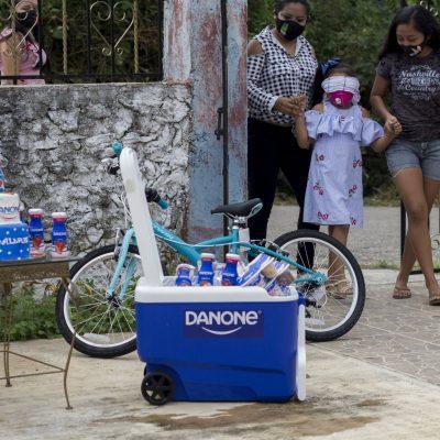 Siguen llegando sorpresas para Valerie, la niña Danone de Yucatán