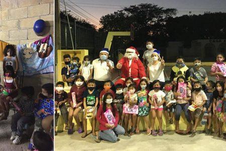 Carnicero se convierte en Santa Claus para llevar alegría a Kanasín