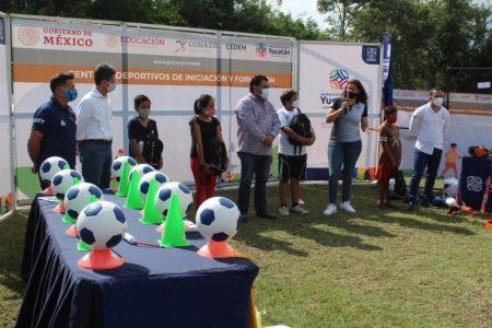 Centros de Iniciación y Formación Deportiva de tres municipios ya están bien equipados