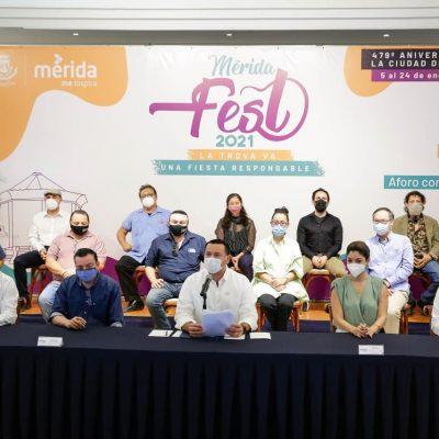 Renán Barrera presenta el Mérida Fest 2021 'La trova va, una fiesta responsable'1