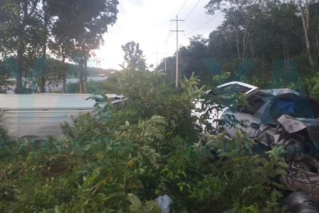 Trágico choque en la Mérida-Valladolid
