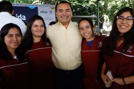 Apoyo de los jóvenes, decisivo para consolidar una Mérida de 10: Renán Barrera