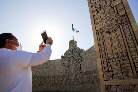 Visita en Mérida el Monumento a la Patria en realidad aumentada