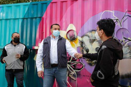 Arte urbano y participación ciudadana se dan la mano en Mérida
