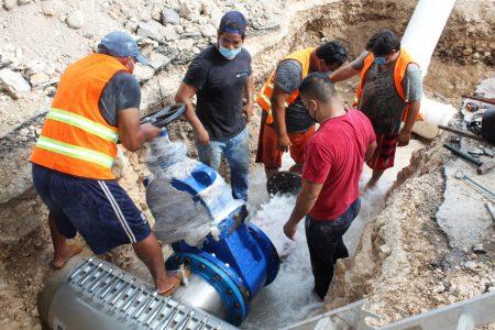 Mejora Japay infraestructura hidráulica en el poniente y la García Ginerés