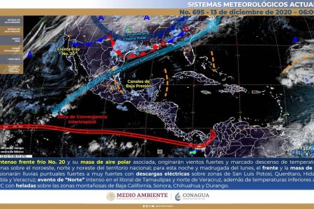 Por sexto día consecutivo Mérida tiene temperatura máxima menor a 30 grados