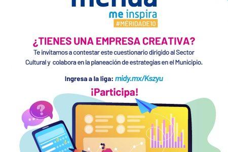 Nueva encuesta para conocer el panorama del sector cultural en Mérida