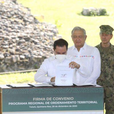 'Amarran' desarrollo urbano y territorial de municipios donde pasará el Tren Maya